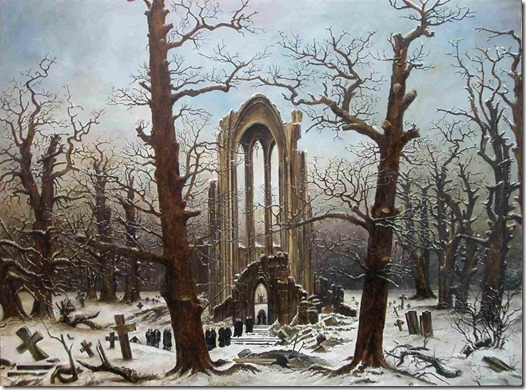 friedrich - winter landscape