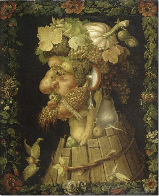 arcimboldo - 1573 -  autumn