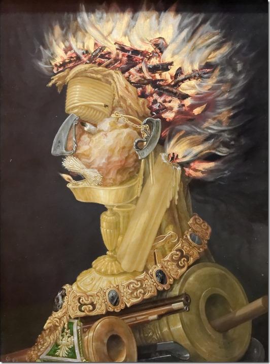 arcimboldo - fire - 1566