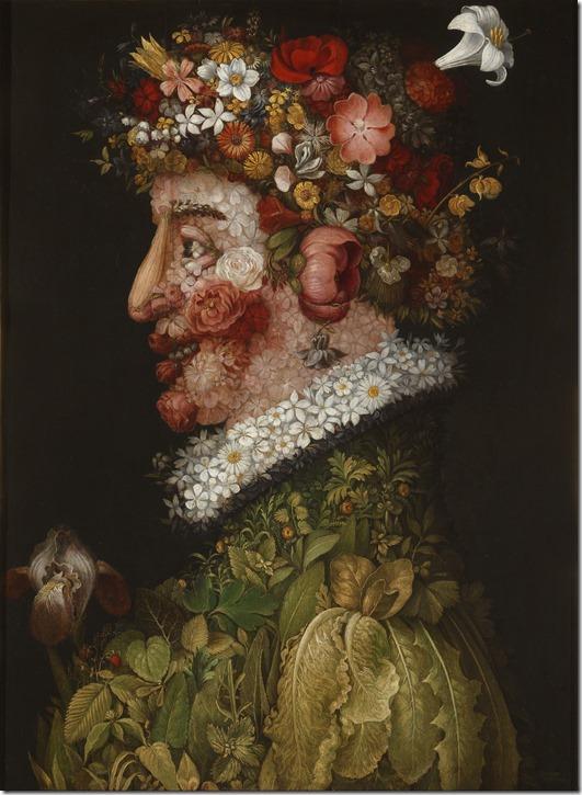 Arcimboldo -La_Primavera - 1563