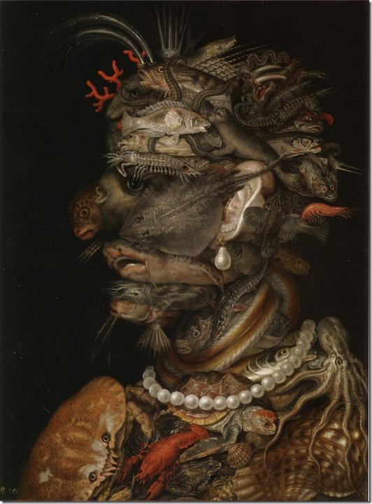 arcimboldo - water - 1566