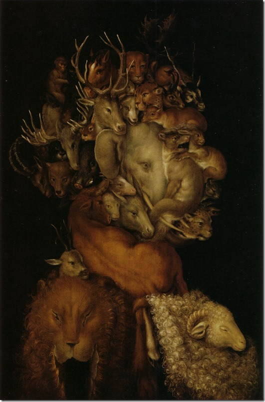 arcimboldon- earth - 1566