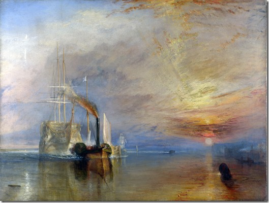 JMW Turner - The fighting Temeraire 1839