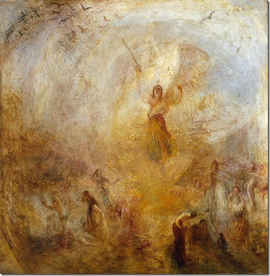 turner-angel standing in the sun -1846