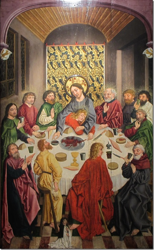 alsace 1485 - last supper
