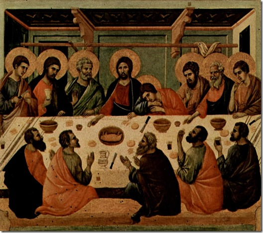 duccio-last supper-1308-1312