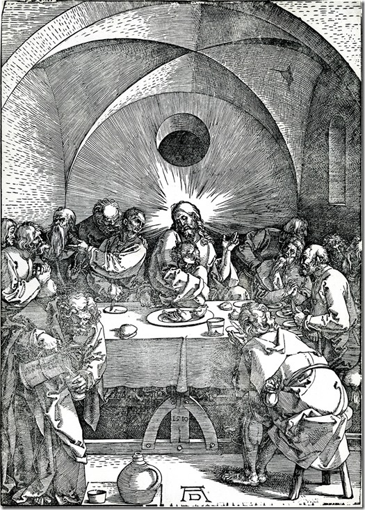 durer - last supper 1496