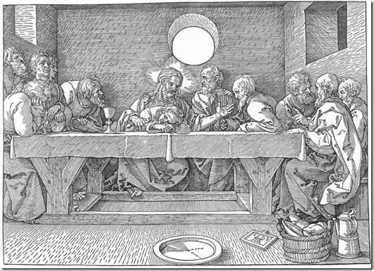 durer - last supper 1525