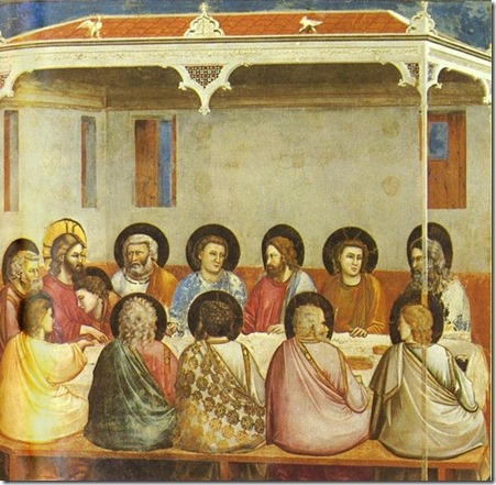 giotto- last supper 1305