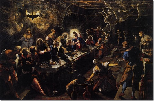 tintoretto last supper 1592-94