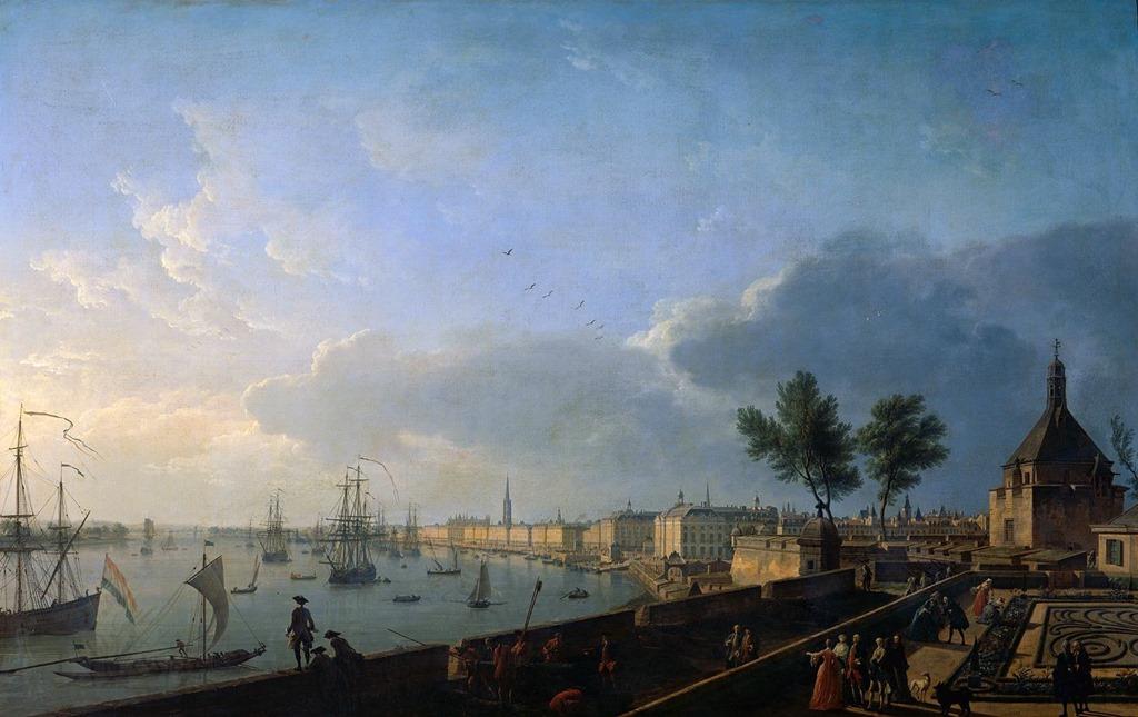 Joseph vernet vissi d 39 arte - Vue du port de bordeaux joseph vernet ...